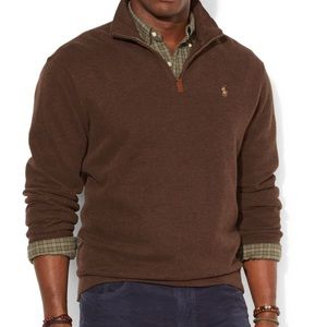 Polo half zip up sweater grate condition size XL